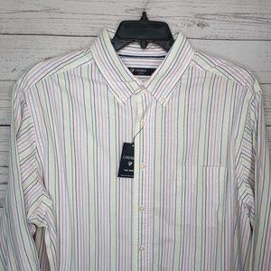 Daniel Cremieux men's 100% cotton l/s dress shirt